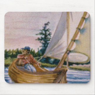 I'd rather be sailing... mouse pad