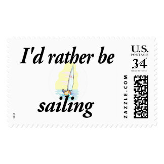 I'd rather be sailing postage
