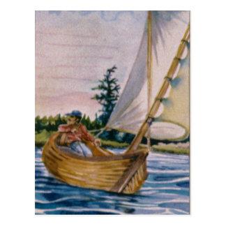 I'd rather be sailing... postcard