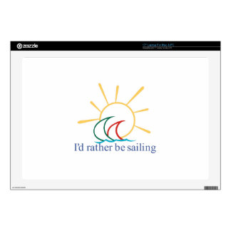 Id Rather Be Sailing Skins For Laptops