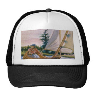 I'd rather be sailing... trucker hat
