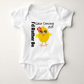 I'd Rather Be Salsa Dancing Tee Shirt