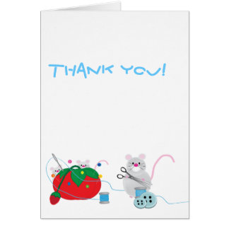 I'd rather be sewing! greeting card