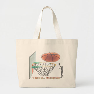 I'd Rather Be Shooting Hoops Bags