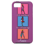 I'd Rather be Shopping Pop Art Phone Case iPhone 5 Case