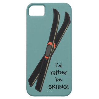 i'd rather be SKIING! Design iPhone Casemate iPhone SE/5/5s Case