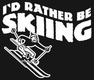 4f94348e5 I Love Skiing T-Shirts - T-Shirt Design & Printing | Zazzle
