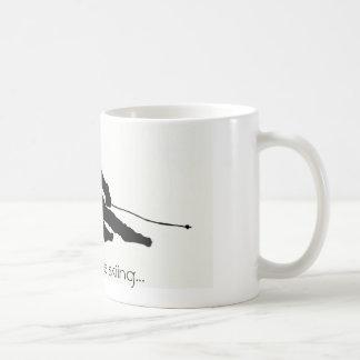 I'd rather be skiing...mug coffee mug