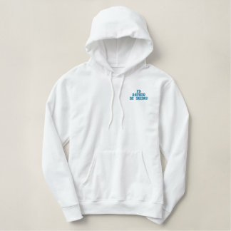 I'd Rather Be Skiing Winter Hoodie
