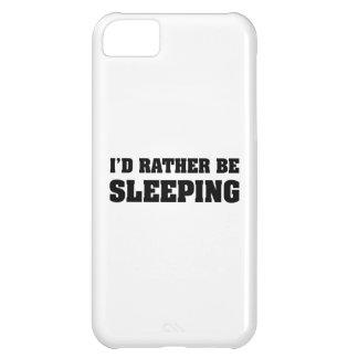 I'd Rather Be Sleeping iPhone 5C Case