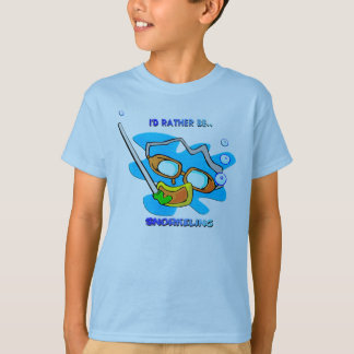 I'd Rather be Snorkeling T-Shirt