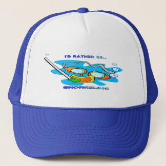 I'd Rather be Snorkeling Trucker Hat