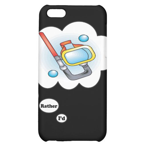 I'd rather be Snorkling iPhone 5C Cases