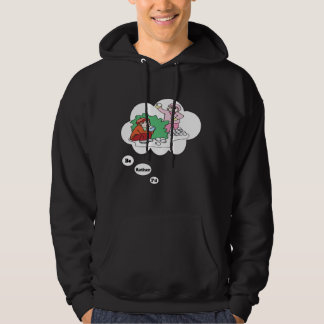 I'd rather be Snowball Fighting Hoodie