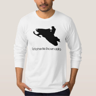 I'd Rather Be Snowmobiling... Tshirt