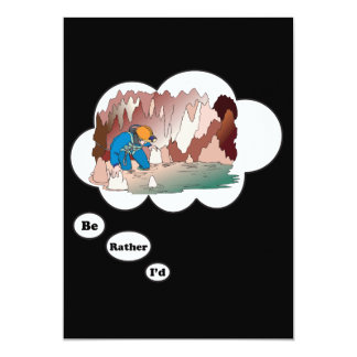 I'd rather be Spelunking Card
