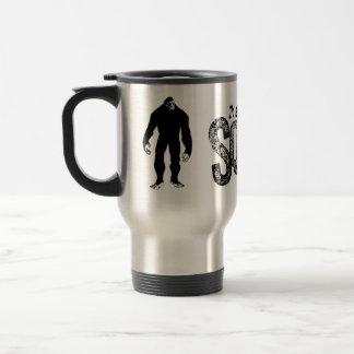 I'd Rather Be Squatchin - Grunge Text Only 15 Oz Stainless Steel Travel Mug