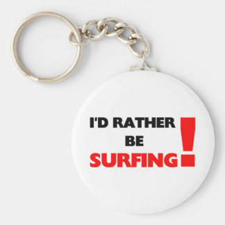 I'd rather be surfing keychain