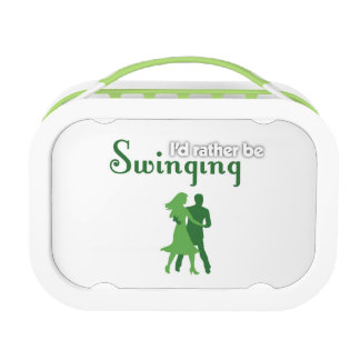 I'd Rather Be Swinging Yubo Lunchbox