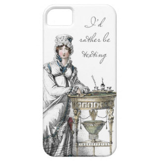 I'd Rather be Texting Regency Fashion Plate iPhone SE/5/5s Case