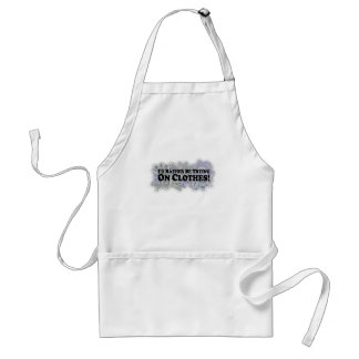 I'd Rather Be Trying On Clothes - Multi-Products Adult Apron