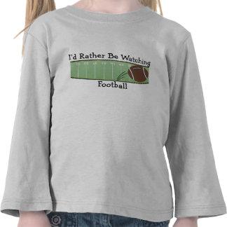 I'd Rather Be Watching Football Tee Shirt