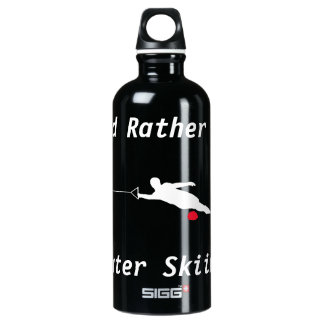 I'd Rather Be Water Skiing Water Bottle