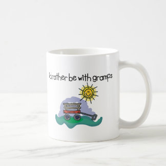 I'd Rather be with Gramps Classic White Coffee Mug