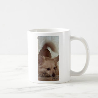 I'd rather be with my dog because coffee mug