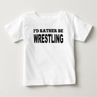 I'd Rather Be Wrestling Infant T-shirt
