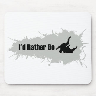 I'd Rather Be Wrestling Mouse Pad