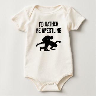 I'd Rather Be Wrestling Rompers