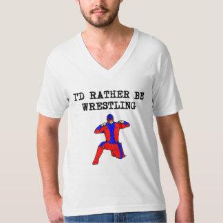 I'd Rather Be Wrestling Shirts