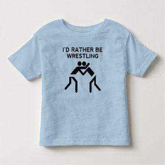 I'd Rather Be Wrestling T-shirts