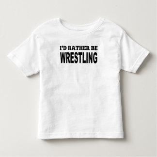 I'd Rather Be Wrestling Tshirt