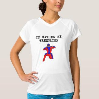 I'd Rather Be Wrestling Tshirts