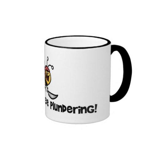 I'd rather bee plundering mug