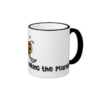 I'd rather bee walking the plank mug