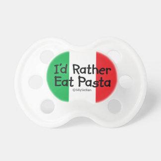 I'd Rather Eat Pasta Pacifier