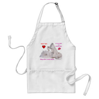 I'D RATHER GO SHOPPING! Apron