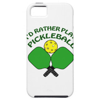 Id Rather Play Pickleball iPhone SE/5/5s Case