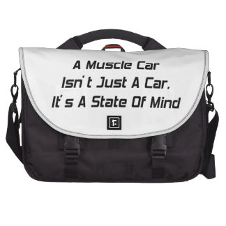 Id Rather Push A Hot Rod Than Drive An Import Laptop Bag