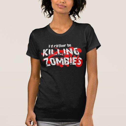 I'd Rather T Shirts