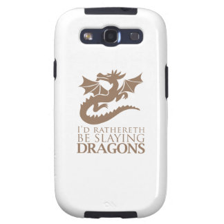 I'd Rathereth Be Slaying Dragons Galaxy SIII Covers