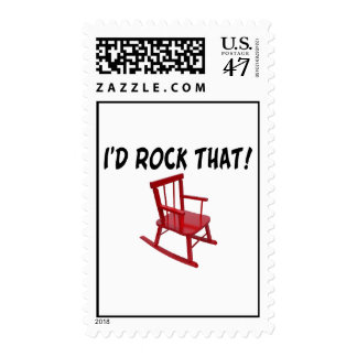 I'd Rock That Chair Stamp