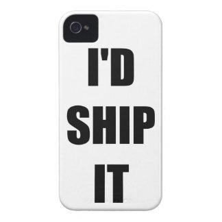 I'd Ship It iPhone 4 Case-Mate Case
