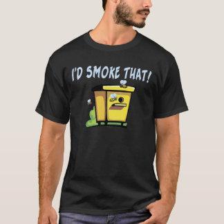 I'd Smoke That Bee Hive Tee Shirt