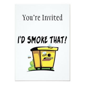 I'd Smoke That Beehive Card