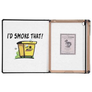 I'd Smoke That Beehive iPad Covers