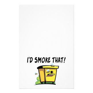 I'd Smoke That Beehive Customized Stationery
